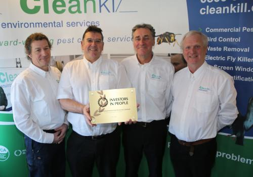 Cleankill Pest Control Investors in People Gold